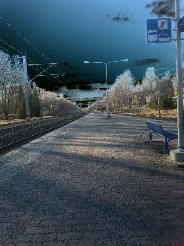 Rautatieasema Hämeenlinna