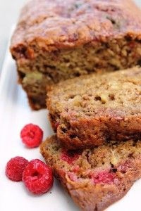 skinny banana raspberry bread - making it this weekend! I'm going to bake a loaf tonight.