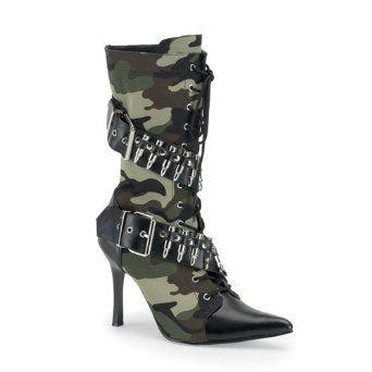 Sexy camo high heel boots Keywords: #weddings #jevelweddingplanning Follow Us: www.jevelweddingplanning.com  www.facebook.com/jevelweddingplanning/