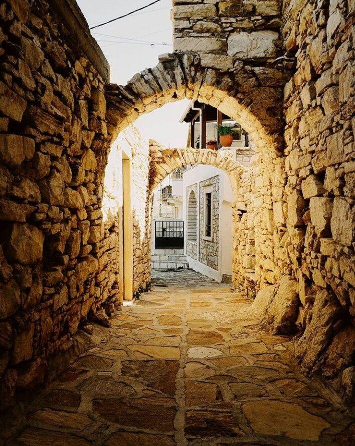 Apiranthos~Naxos island~Greece