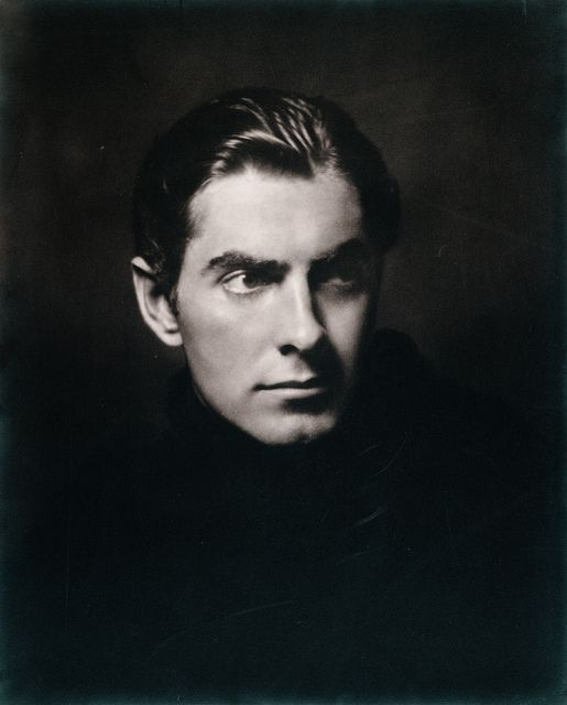 Una instantánea de Tyrone Power (por Alfred Cheney Johnston), 1936. Actores de cine vinage,1930