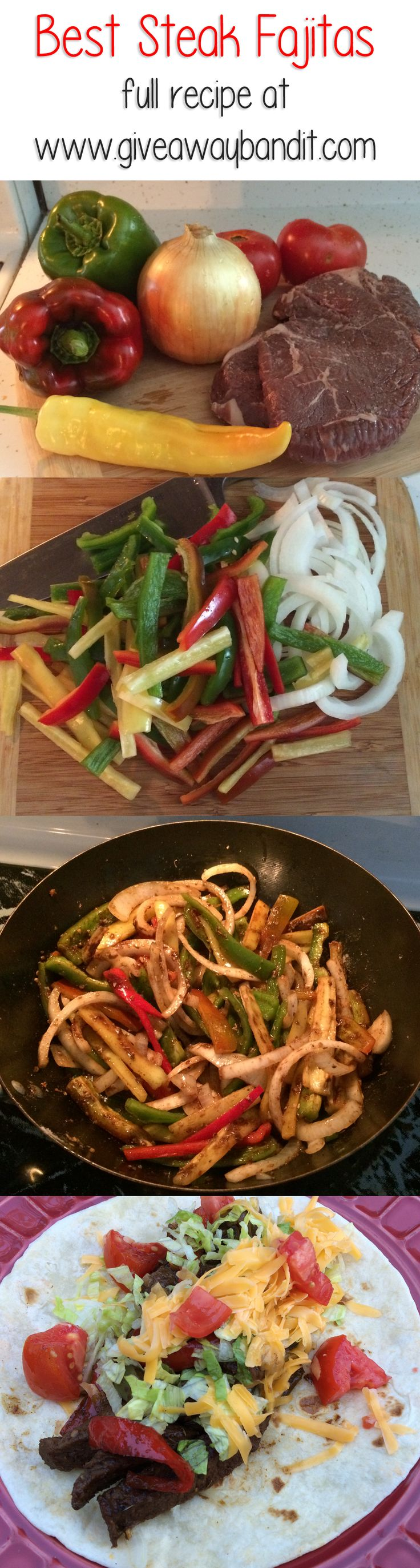 Best Easy Steak Fajita Recipe #recipe