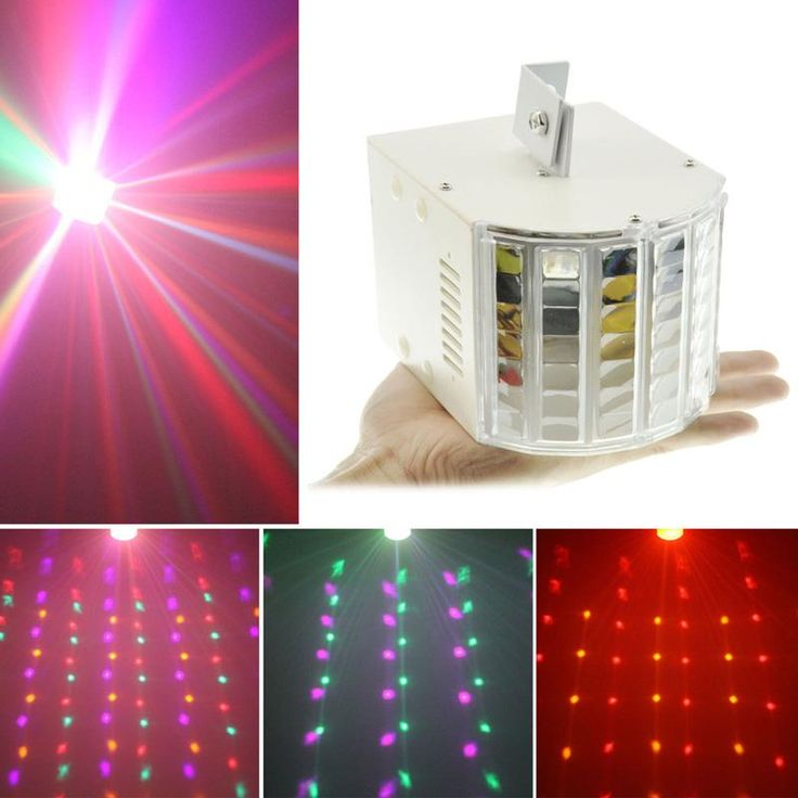 18W Auto Sound Control LED RGBW DMX Ambient Lights Bar DJ Christmas Party Stage Lighting Dance Show Effect Lights(US)