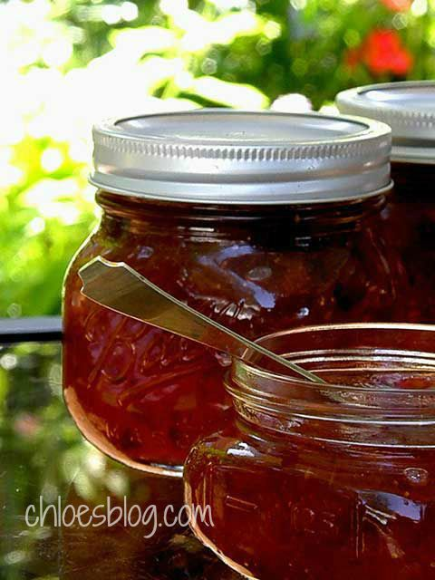 Miss Chloe's Fig Preserves.  I used 2 pounds and processed 1/2 pint jars for 10 minutes.
