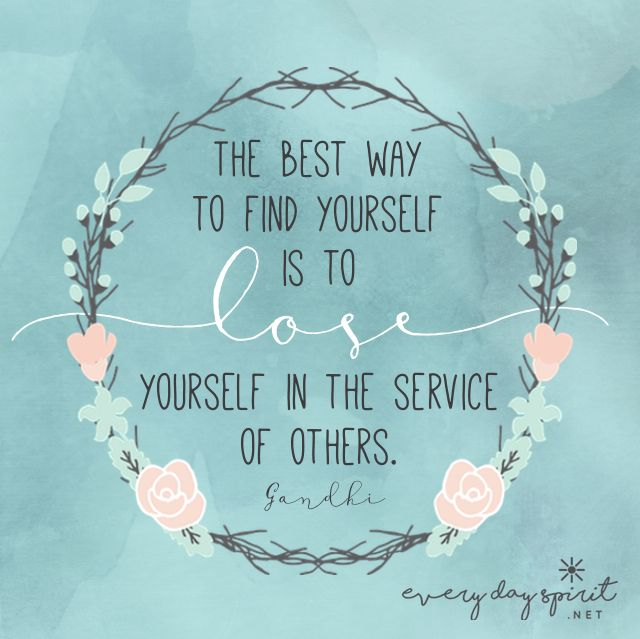 Love & Kindness xo Get the app of inspirational wallpapers at ~ www.everydayspirit.net xo #Gandhi #peace #service #ahimsa