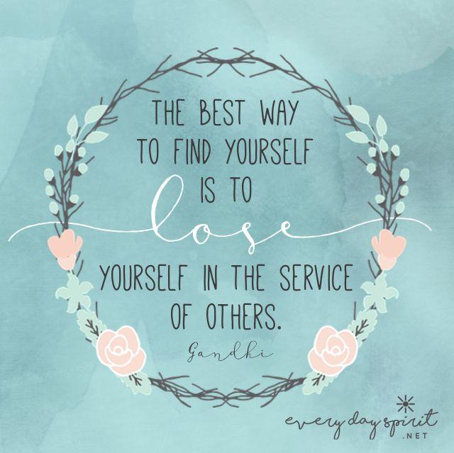 Love & Kindness xo Get the app of inspirational wallpapers at ~ www.everydayspirit.net xo #Gandhi #peace #service #ahimsa