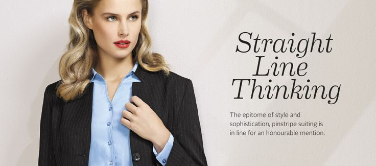 A failsafe classic Pinstripe Suiting