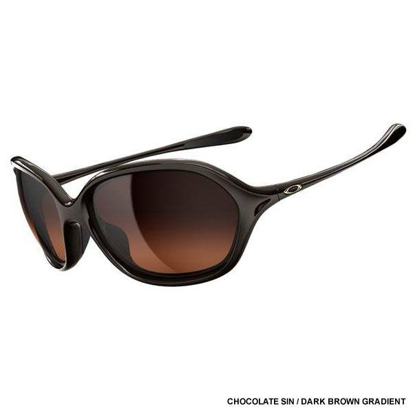 98ab9c5cf6d58 Oakley Women s Warm Up Sunglasses - Chocolate Sin   Dark Brown Gradient  Lens OO9176-02