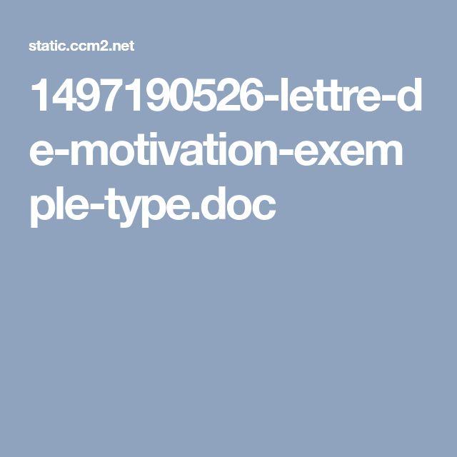 les 25 meilleures id u00e9es de la cat u00e9gorie exemple lettre de motivation sur pinterest