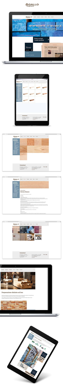 Sito web Gallo Legnami creato da effADV - Gallo Legnami #website, created by effADV - #webdesign