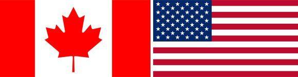 american-canadian-flag