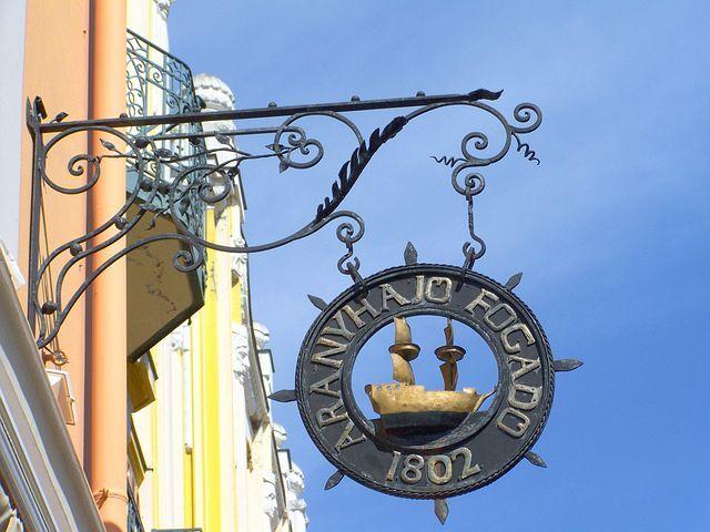 Old Signboard, Pecs, King Street