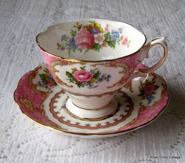 Royal Albert Lady Carlyle teacup: Carlyle Teacup, Tea Time, Teapots, Saucer, Granny S Teacups, Tea Cups, Tea Pots, Royal Albert