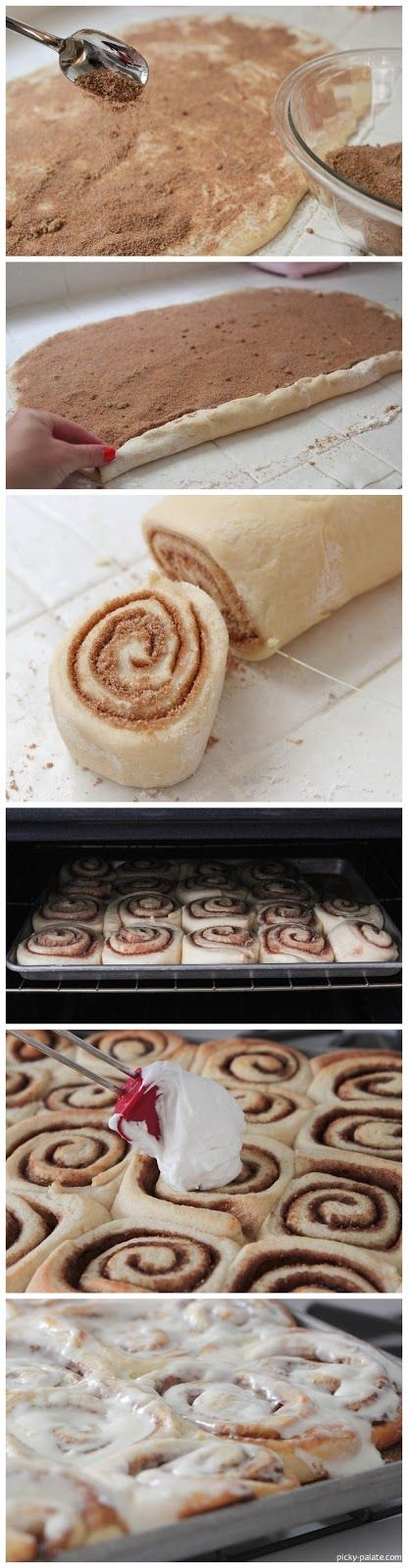 Perfect Cinnamon Rolls…according to Picky Palate