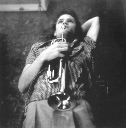 Chet Baker, Los Angeles, 1953, photo by William Claxton