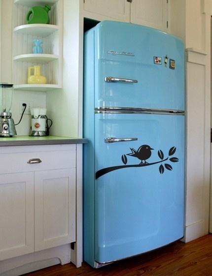 un bleu frigo - Frigo Bleu