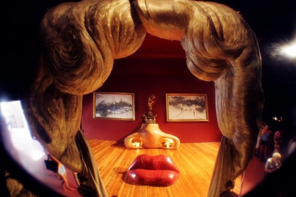 Dali. Figueres. Spain.  Best.  Room.  Ever!