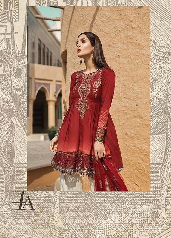 fdaa1eb79d Maria B Presenting Embroidered Lawn Collection 2018 Girls wait is over