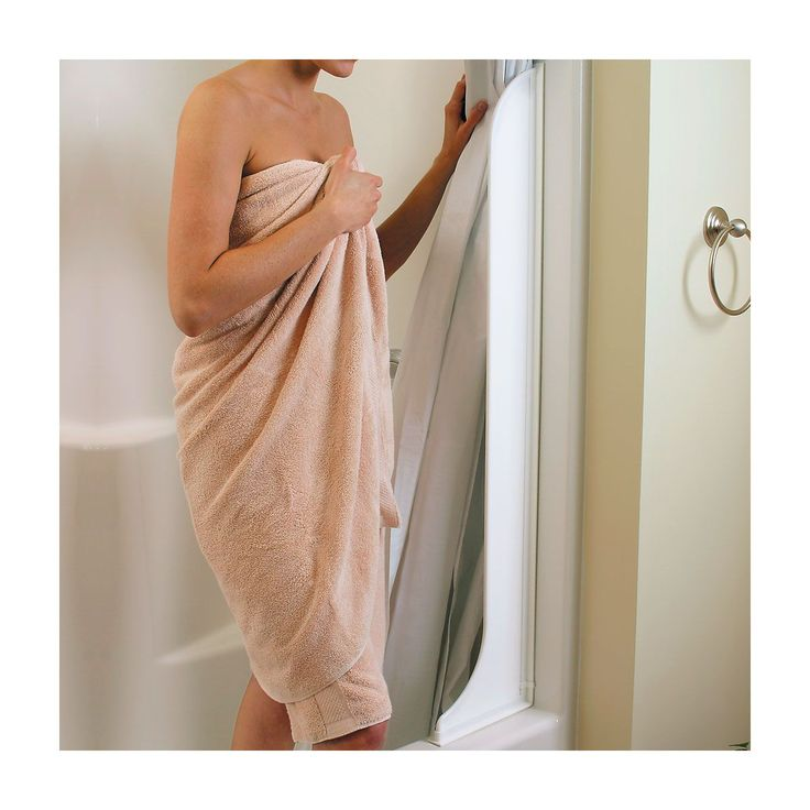 Tall Shower Curtain Splash Guard Set Of 2