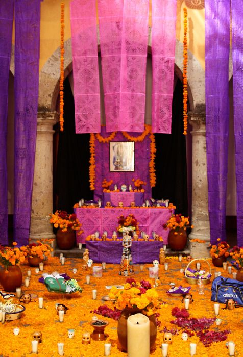 #dayofthedead altar inspiration from #Mexico.