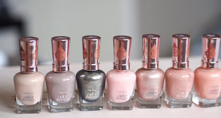 Sally Hansen Color Therapy – Oil Infused Nail Polish Review and Swatches