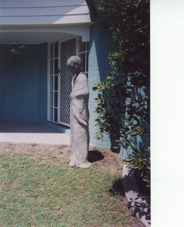 Contemplation- life size Statue, Cement Fondue