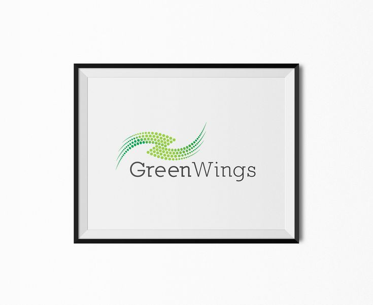 Premium Green Wings Logo for Sale!