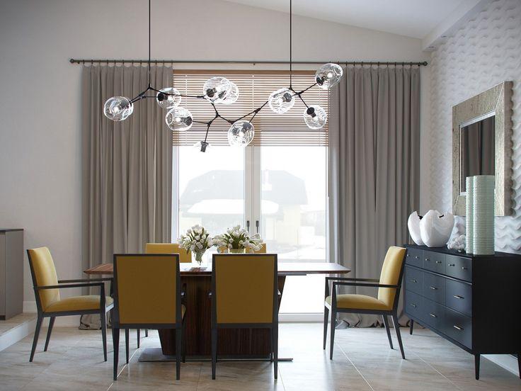 Visualization. House interior on Behance