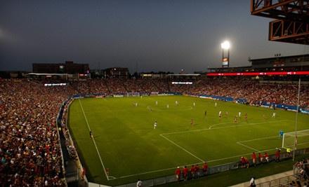 DALLAS, TX - FC Dallas – FC Dallas Stadium  Soccer Game with On-Field Experience and Souvenir Mini Bal