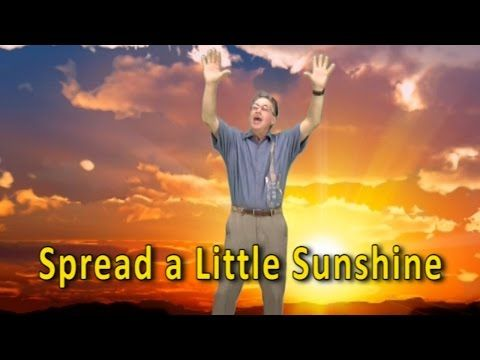 Start the day with this uplifting good morning song for kids. It's so easy for all children to sing and they are also engaged in movements too ( hands I can clap, toes I can tap, hand I can shake, friend I can make ) If you're looking for a wonderfully simple and positive song for your children to sing to start the day, this song is perfect. Spread a Little Sunshine also has great rhyming words in it too that let children develop their rhyming awareness skills.