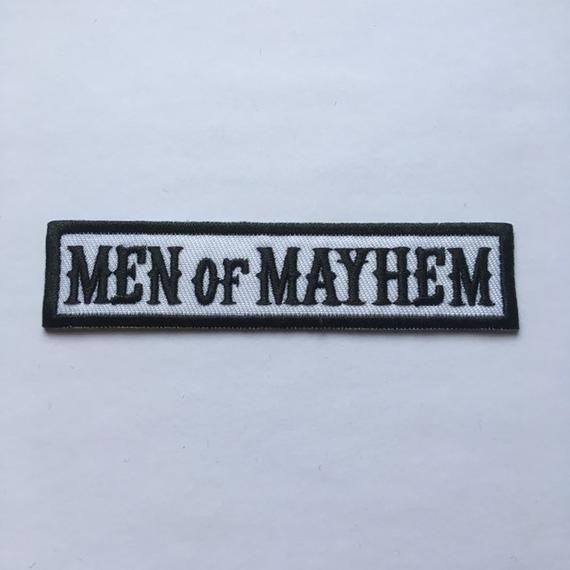 Men Of Mayhem Sons Of Anarchy Patch Etsy In 2021 Anarchy Sons Of Anarchy Patches
