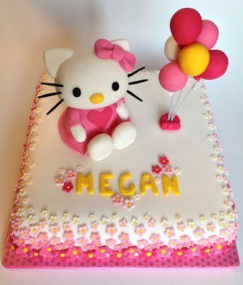 Elaine's Sweet Life: Hello Kitty Cake