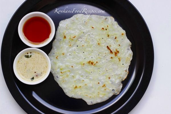 Cucumber Dosas. Grated cucumber is added to a rice based batter. These dosas smell and taste of cucumbers, a heavenly smell & taste. They are called thousali in Konkani. They can be enjoyed with honey or with a spicy pickle. But they are best had with a spicy coconut chutney.