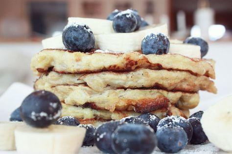 Bananpankaka utan mjöl #banan #pannkaka #glutenfri #ägg #hälsosamt #cleaneating