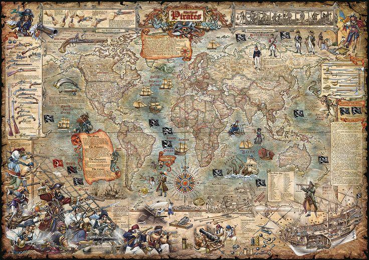 pirate map - Google Search