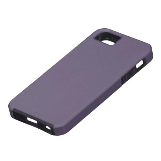 Lilac Dark iPhone 5 Cases