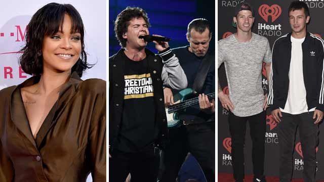 Rihanna & Drake, Lukas Graham, Twenty One Pilots battle for Grammy in jam-packed Pop Duo/Group race - Goldderby
