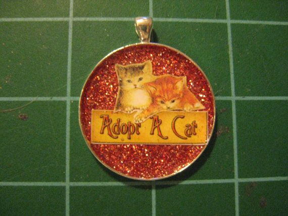 Adopt a Cat Vintage Image of Tabby Kittiens over by scrappyrat, $8.00