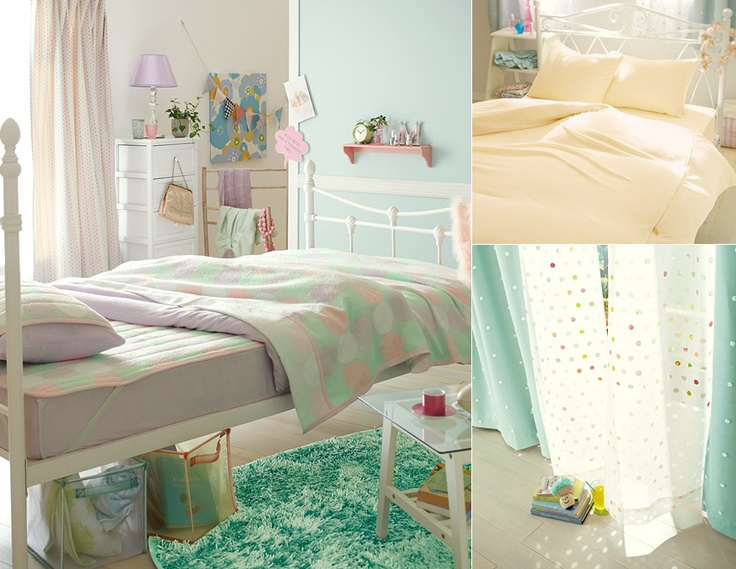 pastel bedroom interior design decor pinterest