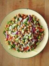Zdravý salát co dům dal : )