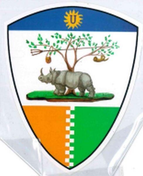 PALIO CONTRADE DI SIENA - Adesivo a forma di scudo SELVA