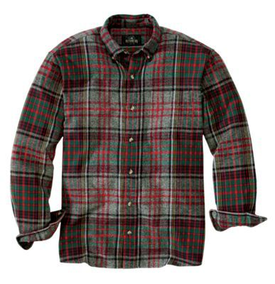 RedHead Ultimate Flannel Shirts for Men - Gray - XLT