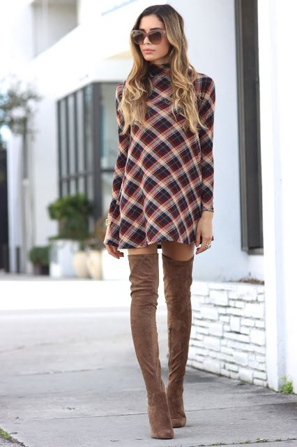 Jasmine Tosh Lately : Mad For Plaid in November