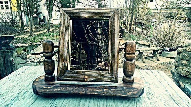 А. Гороховец Поворотное зеркало, сосна, основание ясень.