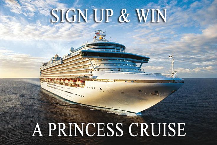 Sign-up to Vacations & Travel magazine's e-newsletter for a chance to WIN one of two Princess Cruises®