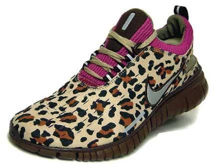 leopard print sneakers! Nike
