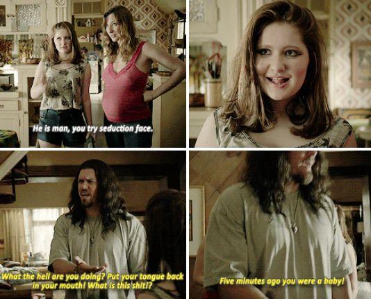 Shameless. Debbie and Svetlana. Funniest part ever!