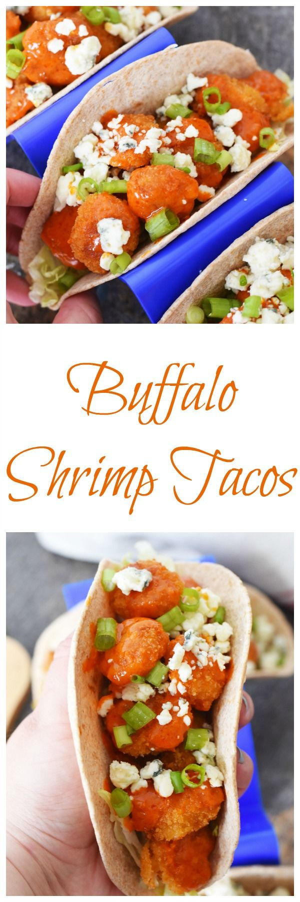 Quick and Tasty Buffalo Shrimp Tacos-A quick meal idea, loaded with so much flavor! Ideal for quick summer meals when time is short, but you want flavor! #AD @GortonsSeafood