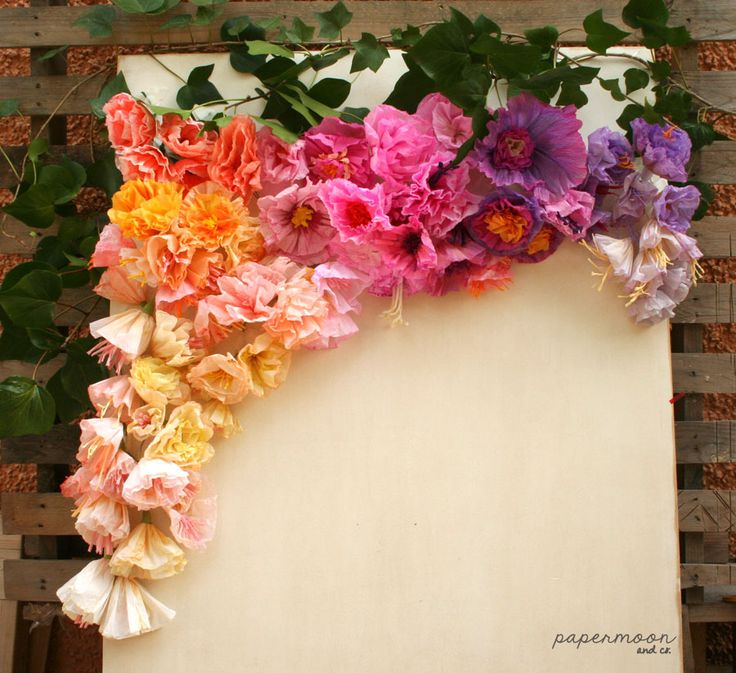 209 best images about creaciones papermoon on pinterest for Decoracion fiesta flower power
