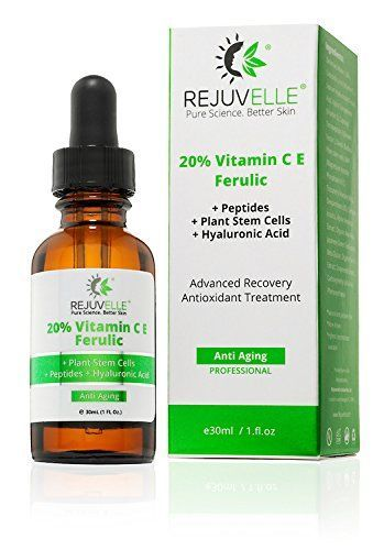 SALE. Best Vitamin C Serum For The Face. 20% CE Ferulic Acid. BONUS: Peptides Diminish Wrinkles   Antioxidant Plant Stem Cells Prevent And Repair Sun (UV) Damage. Anti Wrinkle And Anti Aging Treatment! Look No Further. 100% Guarantee. USA Made. GLUTEN and PARABEN FREE. Click BUY NOW. * Find out more details by clicking the image : Face Oil and Serums